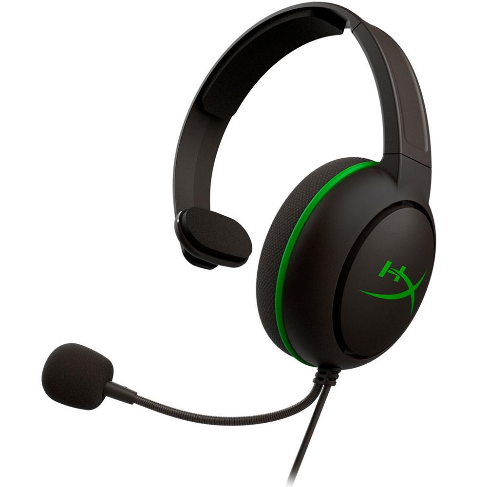Headset HyperX CloudX Chat Xbox, Drivers 40mm, Preto - HX-HSCCHX-BK/WW