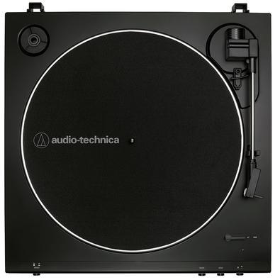 Toca Discos Audio Technica, Acionamento por Correia, Bivolt, Preto - AT-LP60X-BK