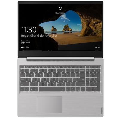 Notebook Lenovo Ultrafino Ideapad S145, AMD Ryzen 5-3500U, 4GB, HD 1TB, Windows 10, 15.6´, Prata - 81V70001BR