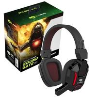 Headset Gamer DL Games SoundGate D3, LED Vermelho, Drivers 40mm - FG251PRE