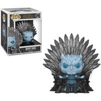 Funko POP! Night King Sitting On Iron Throne, Game Of Thrones S10 Deluxe - 37794