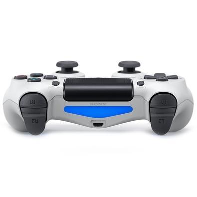 Controle Sony Dualshock 4 PS4, Sem Fio, Branco - CUH-ZCT2U