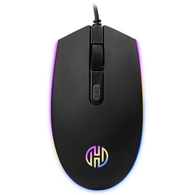 Mouse Gamer Hoopson, LED, 4 Botões, 2400DPI - GT-1200