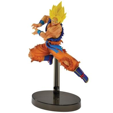 Action Figure Dragon Ball, Super Saiyan Son Goku Z Battle - 34838/34839