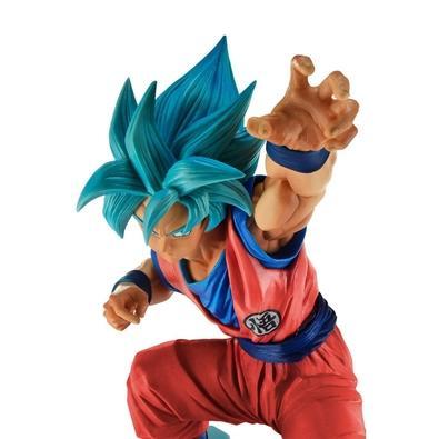 Action Figure Dragon Ball Super, Goku Blue Big Size - 27157/27158
