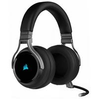 Headset Gamer Corsair Virtuoso Premium Wireless, Surround 7.1. Drivers 50mm, Carbono - CA-9011185-NA