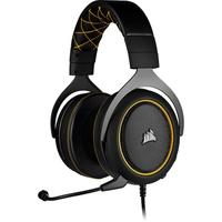 Headset Gamer Corsair HS60 Pro, 7.1 Som Surround, Drivers 50mm, Preto/Amarelo - CA-9011214-NA
