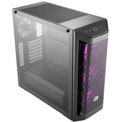 Gabinete Cooler Master MasterBox MB511 RGB, Mid Tower, 4 FANs, Lateral em Vidro - MCB-B511D-KGNN-RGB