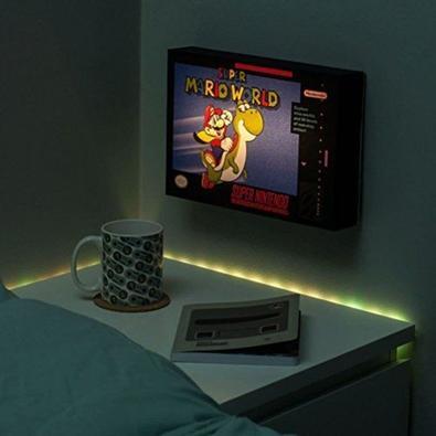 Action Figure Luminária Nintendo, Super Mario World - 29522