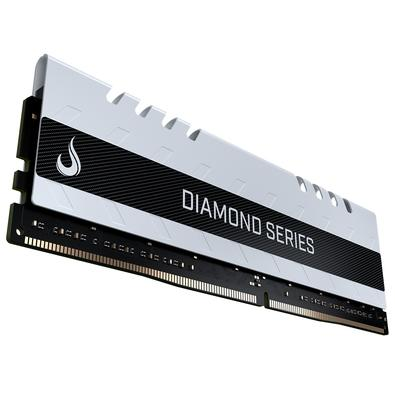 Memória Rise Mode Diamond 8GB, 3200MHz, DDR4, CL15, White - RM-D4-8G-3200D