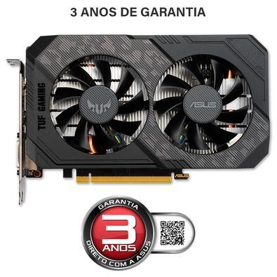 Placa de Vídeo Asus TUF Gaming NVIDIA GeForce GTX 1650 Super OC, 4GB, GDDR6 - TUF-GTX1650S-O4G-GAMING