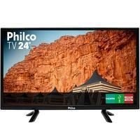 Smart TV LED 24´ Philco, Conversor Digital, 2 HDMI, 1 USB - 99243043