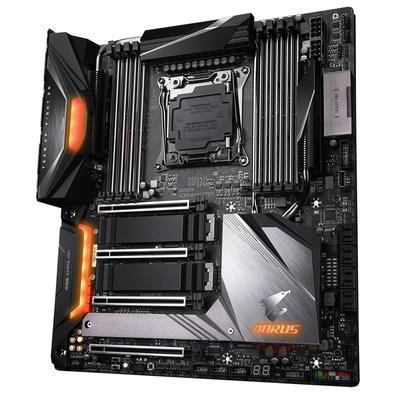 Placa-Mãe Gigabyte X299X Aorus Master p/ Intel LGA2066, E-ATX, DDR4
