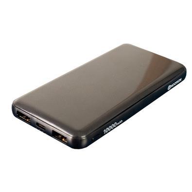 Power Bank Hoopson Turbo, 10000mAh, Carregamento Duplo USB - PBH-10KS