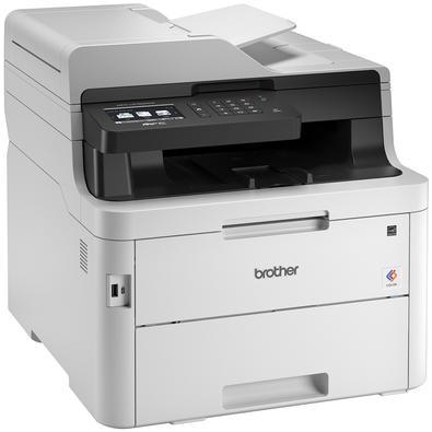 Multifuncional Brother Laser, Colorida, Wi-Fi, 110V - MFCL3750CDW