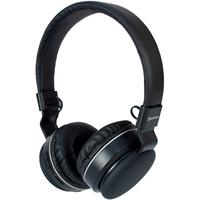 Headphone Bluetooth Hoopson F-048S, com Microfone, Preto e Prata - F-048S