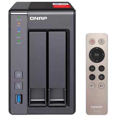 Storage Qnap NAS TS-251+, 2GB, Sem Disco, 2 Baias - TS-251+-2G