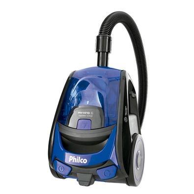 Aspirador de Pó Philco PH1410, 1400W, 110V, Preto e Azul - 54901031