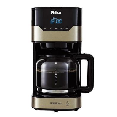 Cafeteira Philco PCFD38CH Touch, 38 Xícaras, 800W, 220V, Inox/Preta - 53902046
