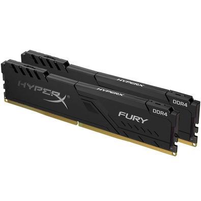 Memória HyperX Fury, 32GB (2x16GB), 3733MHz, DDR4, CL19, Preto - HX437C19FB3K2/32