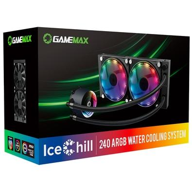 Water Cooler Gamemax Ice Chill 240, 120mm, ARGB - ICE CHILL 240