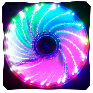 Cooler FAN G-Fire 120mm, LED Rainbow - EW1512R