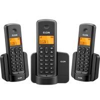 Telefone sem Fio Elgin TSF8003, com Identificador de Chamadas, Preto - TSF8003000