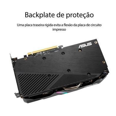 Placa de Vídeo Asus Dual AMD Radeon RX 5500 XT EVO, 4GB, 14.0 Gbps, GDDR6, FidelityFX, Anti-Lag, Image Sharpening - DUAL-RX5500XT-O4G-EVO