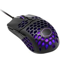 Mouse Gamer Cooler Master MM711, RGB, 6 Botões, 16000DPI, Preto Matte - MM-711-KKOL1