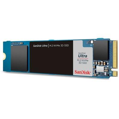SSD SanDisk Ultra M.2 NVMe 3D, 250GB, M.2, PCIe, NVMe, Leituras: 2400Mb/s e Gravações: 950Mb/s - SDSSDH3N-250G-G25