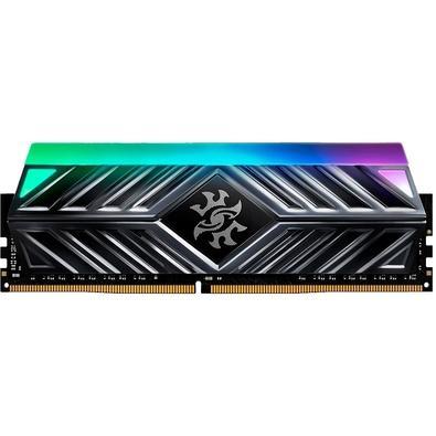 Memória XPG Spectrix D41, RGB, 16GB, 3000MHz, DDR4, CL16, Cinza - AX4U3000316G16A-ST41
