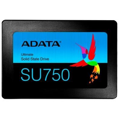 SSD Adata SU750, 1TB, SATA, Leituras: 550Mb/s e Gravações: 520Mb/s - ASU750SS-1TT-C