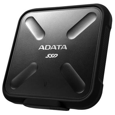 SSD Externo Adata SD700, 512GB, USB 3.2, Preto - ASD700-512GU31-CBK