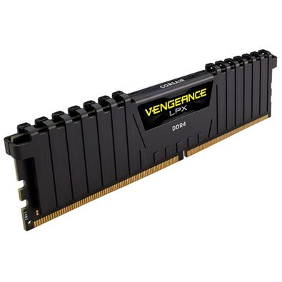 Memória Corsair Vengeance LPX 128GB (8x16GB) 2400Mhz DDR4 C14 Black - CMK128GX4M8A2400C14