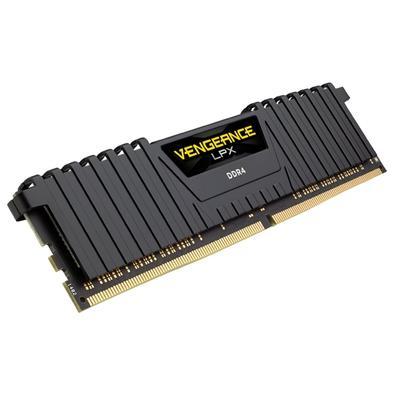 Memória Corsair Vengeance LPX 16GB (2x8GB) 3600Mhz DDR4 C18 Black - CMK16GX4M2B3600C18