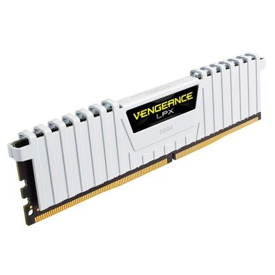 Memória Corsair Vengeance LPX 32GB (2x16GB) 2666Mhz DDR4 C16 White - CMK32GX4M2A2666C16W