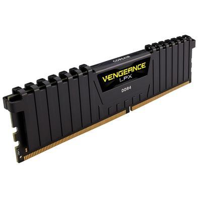 Memória Corsair Vengeance LPX 64GB (4x16GB) 2133Mhz DDR4 C13 Black - CMK64GX4M4A2133C13