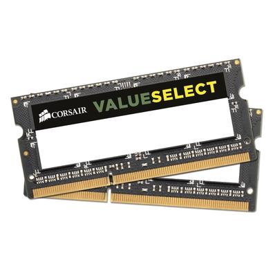 Memória Corsair Value Select Para Notebook 16GB (2x8GB) 1333Mhz DDR3 C9 - CMSO16GX3M2A1333C9
