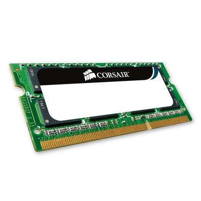 Memória Corsair Value Select Para Notebook 8GB (2x4GB) 1333Mhz DDR3 C9 - CMSO8GX3M2A1333C9