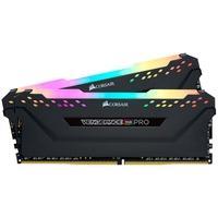 Memória Corsair Vengeance RGB Pro 32GB (2x16GB) 3333MHz DDR4 C16 Black - CMW32GX4M2C3333C16