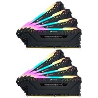 Memória Corsair Vengeance RGB Pro 32GB (4x8GB) 3733MHz DDR4 C17 Black - CMW32GX4M4K3733C17