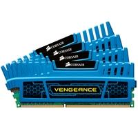Memória Corsair Vengeance 16GB (4x4GB) 1600Mhz DDR3 C9 Blue - CMZ16GX3M4A1600C9B