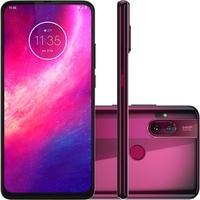 Smartphone Motorola One Hyper, 128GB, 64MP, Tela 6.5´, Rosa Boreal + Capa Protetora - XT2027