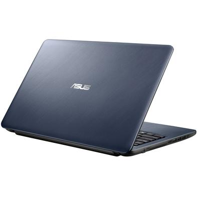 Notebook Asus X543, Intel Core i3-7020U, 4GB, 1TB, Windows 10, 15.5´, Cinza Escuro - X543UA-GO2762T