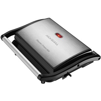 Grill Mondial Master Press 2 em 1, 110V, Inox - PG-01