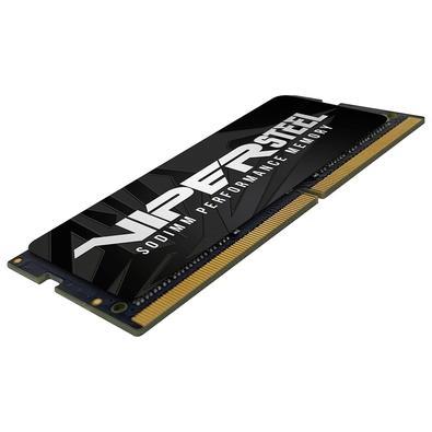 Memória Patriot Viper Steel 16GB (1x16GB), 2400MHz, DDR4, p/ Notebook, CL15 - PVS416G240C5S