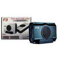 Case para HD Externo F3, 3.5´, USB 3.0, com Fan - JC-CS392