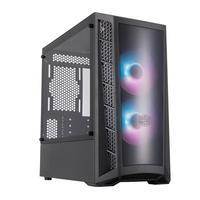 Gabinete Gamer Cooler Master MasterBox MB320L ARGB, Mini Tower, ARGB, com FAN, Lateral em Vidro - MCB-B320L-KGNN-S02