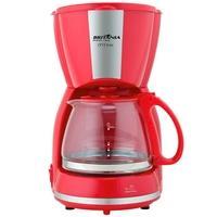 Cafeteira Elétrica Britânia CP15 Inox, 15 Xícaras, 550W, 220V, Vermelho/Inox - 63902081