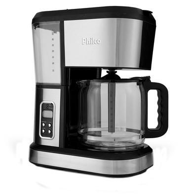 Cafeteira Elétrica Philco PCF50PDI Design, 45 Xícaras, 110V, Inox - 53901062